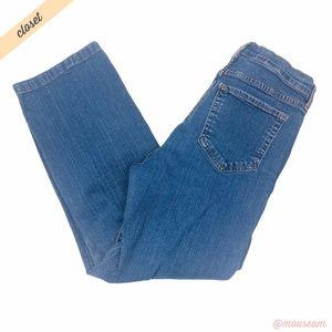 [NYDJ] Light Wash High Rise Straight Leg Jeans